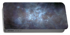 Infrared View Of Cygnus Constellation Portable Battery Charger