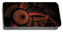 Portable Battery Charger featuring the digital art Inner Core by GJ Blackman