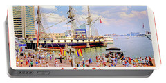 Inner Harbor Baltimore Maryland Portable Battery Charger
