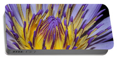 Portable Battery Charger featuring the photograph Inner Sanctum by Judy Whitton