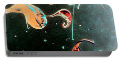 Portable Battery Charger featuring the painting Inner Space by Jacqueline McReynolds