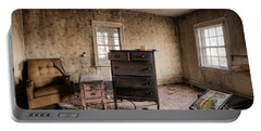 Inside Abandoned House Photos - Old Room - Life Long Gone Portable Battery Charger