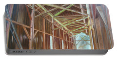 Inside Felton Covered Bridge Portable Battery Charger