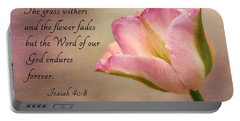 Inspirational Tulip Portable Battery Charger