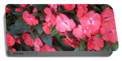 Interior Decorations Butterfly Garden Flowers Romantic At Las Vegas Portable Battery Charger by Navin Joshi