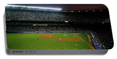 Interiors Of A Stadium, Yankee Stadium Portable Battery Charger