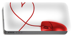Internet Love Portable Battery Charger