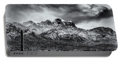 Portable Battery Charger featuring the photograph Into Clouds by Mark Myhaver