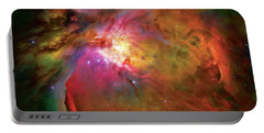 Into The Orion Nebula Portable Battery Charger by Jennifer Rondinelli Reilly - Fine Art Photography
