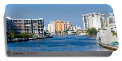Intracoastal Waterway In Hollywood Florida Portable Battery Charger