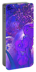 Portable Battery Charger featuring the photograph Iris 2 by Pamela Cooper