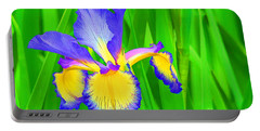 Iris Blossom Portable Battery Charger