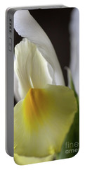 Portable Battery Charger featuring the photograph Iris Flower by Joy Watson