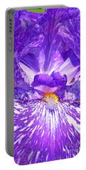 Iris Purple Streaker  Portable Battery Charger
