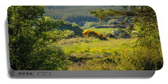 Irish Countryside In Spring Portable Battery Charger