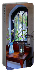 Portable Battery Charger featuring the photograph Irish Elegance by Charlie and Norma Brock