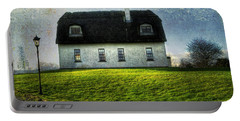Irish Thatched Roofed Home Portable Battery Charger