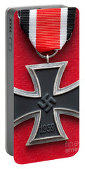 Iron Cross Medal Portable Battery Charger by Lee Avison
