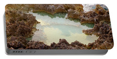 Portable Battery Charger featuring the photograph Ironshore Tidewater Pool by Amar Sheow
