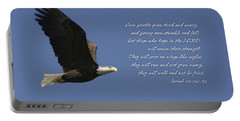Isaiah 40 Portable Battery Charger