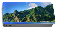 Island In The Sea, Soufriere, Saint Portable Battery Charger
