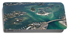 Islands Of Perdido - Labeled Portable Battery Charger