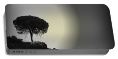 Portable Battery Charger featuring the photograph Isolation Tree by Clare Bevan