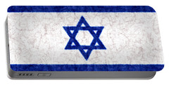Israel Star Of David Flag Batik Portable Battery Charger