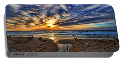 Portable Battery Charger featuring the photograph Israel Sweet Child In Time by Ron Shoshani