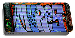 Istanbul Graffiti Portable Battery Charger