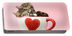 It Must Be Love Portable Battery Charger