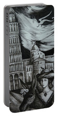 Italian Fantasies. Pisa Portable Battery Charger