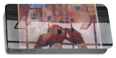 Italian Painting Reflection Portable Battery Charger