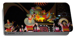 It's A Small World With Dancing Mexican Character Portable Battery Charger