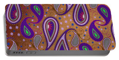 It's Raining Paisley Series 1 Portable Battery Charger