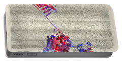 Iwo Jima Declaration Of Freedom Portable Battery Charger