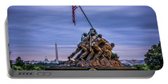 Iwo Jima Monument Portable Battery Charger