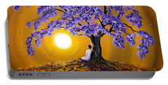 Jacaranda Sunset Meditation Portable Battery Charger