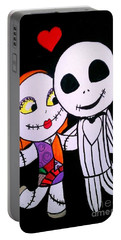 Jack And Sally Portable Battery Charger