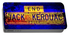 Jack Kerouac Alley Portable Battery Charger
