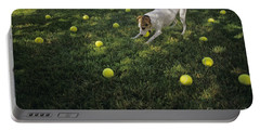 Jack Russell Terrier Tennis Balls Portable Battery Charger