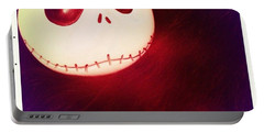 Jack Skellington Glowing Portable Battery Charger