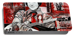 Jack White Portable Battery Charger by Joshua Morton