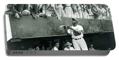 Jackie Robinson Signs Autographs Vintage Baseball Portable Battery Charger