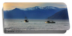 Portable Battery Charger featuring the photograph Jackson Bay South Westland New Zealand by Amanda Stadther