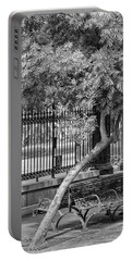 Jackson Square Bench And Tree Portable Battery Charger
