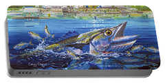 Jacksonville Kingfish Off0088 Portable Battery Charger by Carey Chen