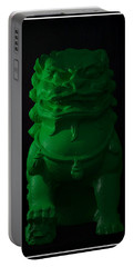 Portable Battery Charger featuring the digital art Jade... by Tim Fillingim