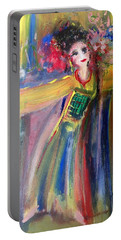 Jaded Geisha  Portable Battery Charger by Judith Desrosiers
