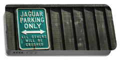 Jaguar Car Park Portable Battery Charger